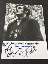 FELIX  († 2012) Weltmeister 1970 Brasilien signed Foto 10 x 14 Autogramm RARITÄT