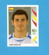 PANINI-GERMANY 2006-Figurina n.532- CASILLAS - SPAGNA -NEW BLACK