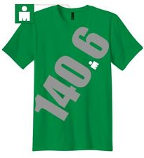 Ironman Triathlon Men's Giant 140.6 T-Shirt - Green *New with Tags*