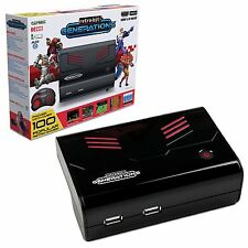 Retro-Bit Generations - Plug and Play Game Console Red/Black Over 90+ Retro