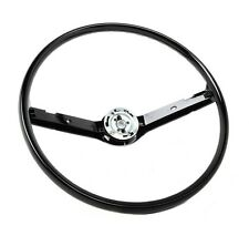 New! 1968 - 1969 Ford MUSTANG Steering Wheel Black Original Stock Size and Shape