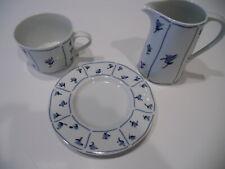Vintage 1987 Block Spal Portugal Blue Fields by Jack Prince Dinnerware - EUC