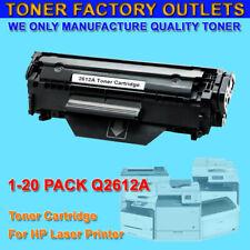 1-20PK Q2612A 12A Toner Cartridge For HP 1022nw 1022n 1022 1020 1018 1012 lot