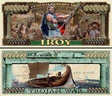 TROIE GRECE ANTIQUE - BILLET MILLION DOLLAR ! Série Mythologie Grecque Aventure