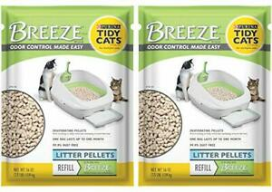 2 Pack of Purina Tidy Cats BREEZE Cat Litter Pellets Refill for Multiple Cats...