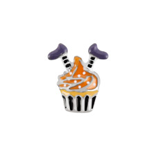 ORIGAMI OWL WITCH CUPCAKE CHARM HALLOWEEN 2018 RETIRED