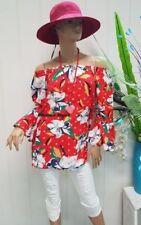 Rayon Long Sleeve Bohemian Tops for Women