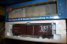 Atlas O Gauge 50' PS-1 double door boxcar # 8418-2 NIB 3 Rail Cotton belt #47510