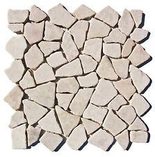 1 qm Mosaik M-003 Mosaikfliesen Marmor - Fliesen Lager Steinmosaik Herne NRW -