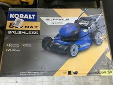 KOBALT 80V BRUSHLESS LITHIUM ION SELF-PROPELLED 21IN CORDLESS ELECTRIC LAWNMOWER