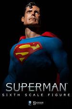 SUPERMAN~SIXTH SCALE FIGURE~DC COMICS~SIDESHOW~MIB