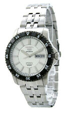 SEIKO 5 Sports SNZJ27 SNZJ27K1 Mens Automatic Black Bezel 100m Steel Watch