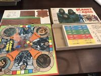 PLANET OF THE APES 1974 Milton Bradley Game~COMPLETE Spectacular Minty Unpunched