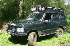 Land rover  Discovery Bushcables /The galvanized set  By Bushcables.com