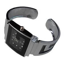 Quadrat Armbanduhren aus Edelstahl