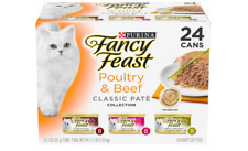 Wet Cat Food Classic Variety Packs Poultry & Beef Variety Pack 24 Cans Adult Can