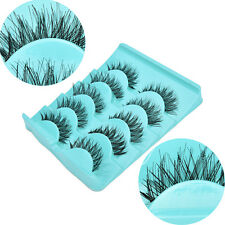 Japan 5 Pairs Magic Diamond Lashes Cross Messy False Eyelashes In Box BE