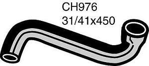 Mackay Radiator Hose (Top) CH976 fits Renault 12 1.3 (1170), 1.3 TS (1177, 1337)