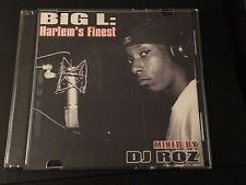 DJ ROZ BIG L Harlem's Finest CLASSIC Best of Mixtape CD Freestyles Harlem DITC