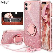 Bling Glitter Diamond Case Phone Cover For iPhone 11 Pro Max XR XS X 6 7 8 Plus