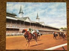 Genuine Risk Photo 15 x 12 Horse Racing 1980 Kentucky Derby