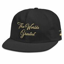 Diamond Supply Co. x Muhammad Ali Men's World's Greatest Strapback Hat Black Cas