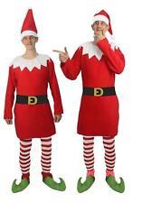 Adults Naughty Elf Santa's Shelf Helper Christmas Fancy Dress Costume