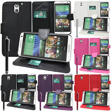 Funda Protectora Para HTC Desire 610 Móvil Cartera Funda con Tapa