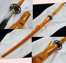 1095 Carbon Steel Sword FullTang Blade Japanese Samurai Katana Ready Battle