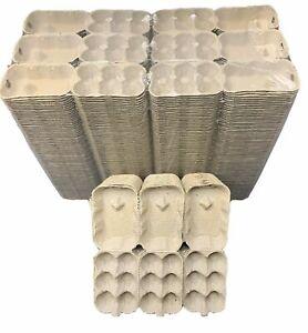 30 - 300 - 600 NEW HALF DOZEN EGG BOXES CARTONS FOR MEDIUM LARGE CHICKEN EGGS