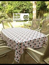 Kit-Cat's Fun Tablecloth Made In The Usa Ideal For Parties,Bbqs,And Birthday