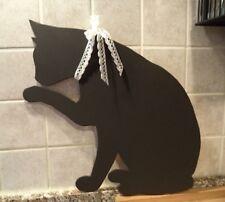 Lavagnetta gatto cucina Shabby chic,Cameretta bimbi,fatto a mano,regalo,arredo