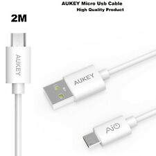 2 Meter Long Official AUKEY Premium Hi-speed Quick Charge USB To Micro USB Cable