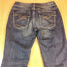 SILVER Jeans SUKI FLAP Bootcut 29x32 Medium FLAP POCKETS  *VGUC*  J011816