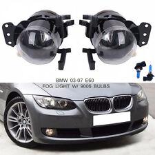 Bumper Lamps Fog Lights w/ bulbs For BMW 2004-2009 E60 E61 E63 E46 X3 325i 525i