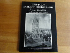Vintage signed copy of Bristol's Earliest Photographs by Reece Winstone 1974