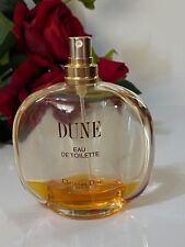 Christian DIOR DUNE  Spray edt  12 ml left women perfume
