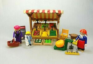 Playmobil Spielset aus 5341 Kasse Marktstand Markt Nostalgie Vintage