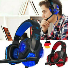 Headset Gaming Kopfhörer Wired Stereo PC PS4 Xbox Switch Laptop PS5 Notebook DE