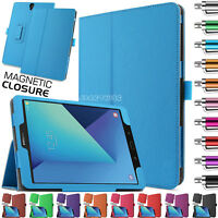 "Smart Case Cover New Leather Flip For Samsung Galaxy Tab S3 9.7"" Inch T820 T825"