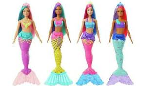 Barbie Dreamtopia Mermaid Doll Blue Crown/Light Green Fin
