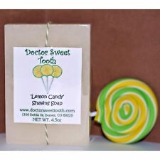 LEMON CANDY Handmade Scented Shaving Bar Soap 4.5oz