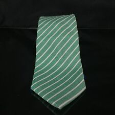 Something Strong Stripped Tie - Green  White Lucky St. Patrick's Day NWT