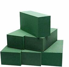 Wet Floral Foam Blocks Floral Bricks Flower Mud Foam Kit for Arrangement Green