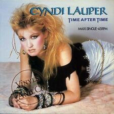 CYNDI LAUPER - Time After Time [3'59] Girls Just Want To Have Fun [Extended] 12""