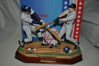Sports Impressions Yankee Tradition Figurine!  Mickey Mantle & Don Mattingly!