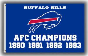 Buffalo Bills AFC Champions Flag Football Fan Banner 90x150cm 3x5ft Best Banner