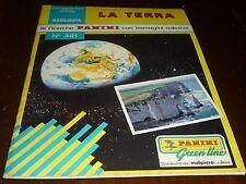 ALBUM FIGURINE LA TERRA PANINI CON IMMAGINI ADESIVE COMPLETO 1989 - OTTIMO ++ !!
