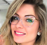 Crystal Cat Eye Glasses Anti Ray Optical Frames Blue Block Computer Spectacles