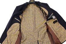 TED BAKER Navy CAREZ THE GOLDEN EWE Wool Jacket Coat Blazer & Suit Bag UK44 IT54